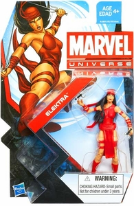 Marvel Universe 3 3/4 Inch Series 22 Action Figure  #006 Elektra
