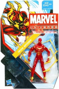 Marvel Universe 3 3/4 Inch Series 22 Action Figure #008 Iron Spider [Spider-Man]
