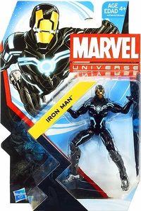 Marvel Universe 3 3/4 Inch Series 23 Action Figure #018 Iron Man [Zero-Gravity Armor]