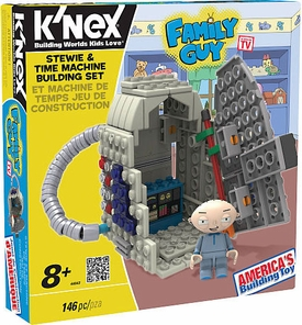 Family Guy K'NEX Set #44043 Stewie & Time Machine Building Set
