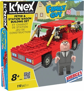 Family Guy K'NEX Set #44044 Peter & Station Wagon Building Set