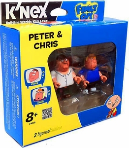 Family Guy K'NEX Set #44040 Peter & Chris