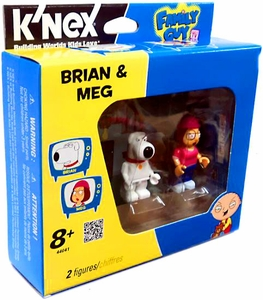 Family Guy K'NEX Set #44041 Brian & Meg