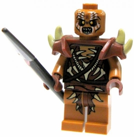 LEGO Hobbit LOOSE Mini Figure Gundabad Orc with Spear