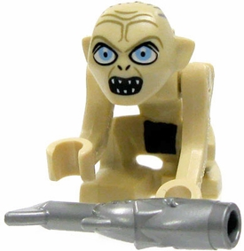 LEGO Lord of the Rings LOOSE Mini Figure Gollum with Fish