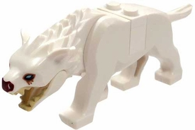 LEGO Hobbit LOOSE Mini Figure White Warg