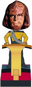 Star Trek The Next Generation Build - A - Bridge Bobble Head Worf Pre-Order ships April