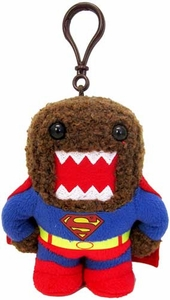 Domo DC Last Son of Krypton 4 Inch Plush Clip On Superman Domo