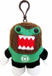 Domo DC Emerald Crusader 4 Inch Plush Clip On Green Lantern Domo