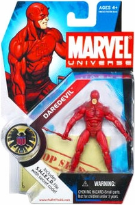 Marvel Universe 3 3/4 Inch Series 2 Action Figure #8 Daredevil [Light Red Costume]