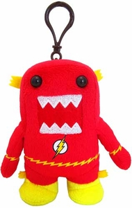 Domo DC Fastest Man Alive 4 Inch Plush Clip On Flash Domo
