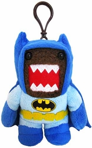 Domo DC Caped Crusader 4 Inch Plush Clip On Batman Domo