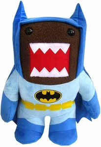 Domo DC Caped Crusader 16.5 Inch Plush Batman Domo