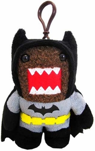 Domo DC Dark Knight 4 Inch Plush Clip On Batman Domo