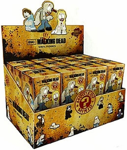 Funko Walking Dead Series 1 Mini Vinyl Figure Mystery Box [24 Packs] New!