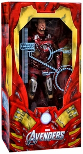 NECA Marvel Quarter Scale Action Figure Battle Damaged Iron Man [With Electronics!] BLOWOUT SALE!