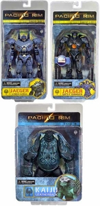 NECA Pacific Rim Series 2 Set of 3 Action Figures [BD Gipsy Danger, Striker Eureka & Leatherback]