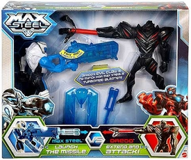 Max Steel Battle Pack Claw Dredd vs Blaster Max