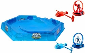 Max Steel Turbo Battlers Arena with 2 Turbo Battlers Pre-Order ships July