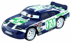 Disney / Pixar CARS Movie Exclusive 1:55 Die Cast Car Motor Speedway of the South #121 Clutch Aid Only 1,000 Made!