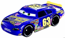 Disney / Pixar CARS Movie Exclusive 1:55 Die Cast Car Motor Speedway of the South #63 Transberry Juice Only 1,000 Made!
