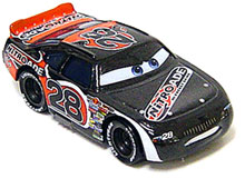 Disney / Pixar CARS Movie Exclusive 1:55 Die Cast Car Motor Speedway of the South #28 Nitroade Only 1,000 Made!