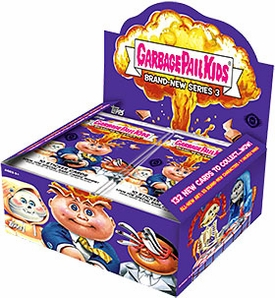 Garbage Pail Kids 2013 Brand New Series 3 Trading Card Hobby Box [24 Packs]