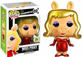 Funko POP! Muppets 2013 SDCC San Diego Comic-Con Exclusive Vinyl Figure  Miss Piggy [Metallic]