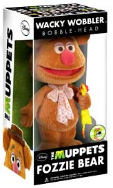 Funko POP! Muppets 2013 SDCC San Diego Comic-Con Exclusive Wacky Wobbler Bobble Head Fozzie Bear [Flocked]