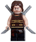 LEGO Prince of Persia LOOSE Mini Figure Dastan with Twin Blades