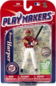 McFarlane Toys MLB Playmakers Series 4 Action Figure Bryce Harper (Washington Nationals)