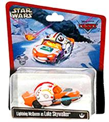 Disney / Pixar CARS Star Wars Exclusive 1:55 Die Cast Car Lightning McQueen as Luke Skywalker
