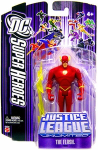 DC Super Heroes Justice League Unlimited Action Figure Flash [Purple Card]