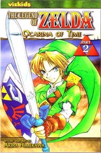 Legend of Zelda Manga Ocarina of Time Part 2