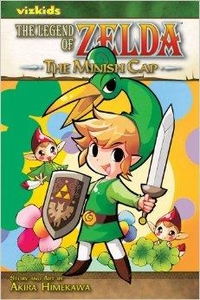 Legend of Zelda Manga The Minish Cap