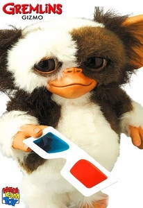 Gremlins Medicom Life Size VCD Collectible Figure Gizmo [3D Glasses Ver.] Pre-Order ships August