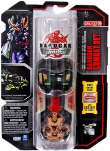 Bakugan Gundalian Invaders Exclusive Combat Set 2-Pack Darkus Boomix & Subterra Linehalt