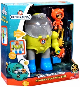 Fisher Price Octonauts Vehicle Playset Kwazii's Octo Max Suit