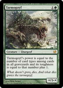 Magic: The Gathering Modern Masters Single Card Green Mythic Rare #166 Tarmogoyf