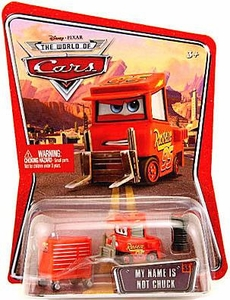 Disney / Pixar CARS Movie 1:55 Die Cast Car Series 3 World of Cars My Name is Not Chuck [Tough Guy Pitty]