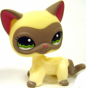 Littlest Pet Shop LOOSE Around the World Figure #1116 Siamese Cat