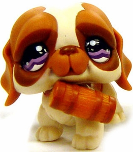 Littlest Pet Shop LOOSE Around the World Figure #1118 St. Bernard