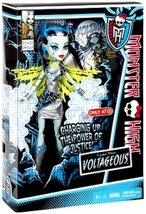 Monster High Power Ghouls Exclusive DELUXE Doll Voltageous [Frankie Stein]