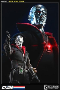 GI Joe Sideshow Collectibles 1/6 Collectible Figure Destro Pre-Order ships April
