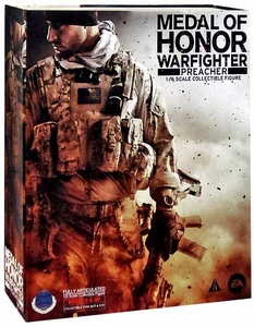 Medal of Honor Warfighter Square Enix Play Arts Kai Action Figure Preacher