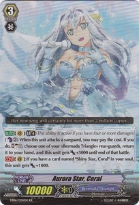 Cardfight Vanguard ENGLISH Dazzling Divas Single Card RR Rare EB06/004 Aurora Star, Coral
