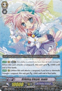 Cardfight Vanguard ENGLISH Dazzling Divas Single Card Rare EB06/008 Shining Singer, Ionia