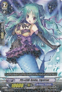 Cardfight Vanguard ENGLISH Dazzling Divas Single Card Rare EB06/009 PRISM-Smile, Ligurian