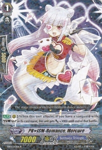 Cardfight Vanguard ENGLISH Dazzling Divas Single Card Rare EB06/013 PRISM-Romance, Mercure