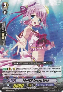 Cardfight Vanguard ENGLISH Dazzling Divas Single Card Common EB06/019 PRISM-Image, Rosa